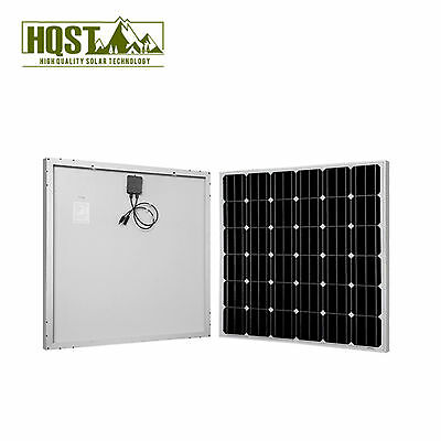 HQST150W Watt Mono Solar Panel 12V Off Grid Battery Charger RV Boat Home System