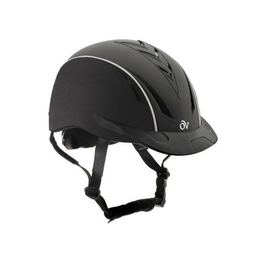 Ovation Sync Unisex Extreme Riding Helmet, Black, Small/Medium