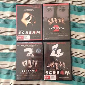 Complete Scream DVD Set (1,2,3 & 4) Berwick Casey Area Preview