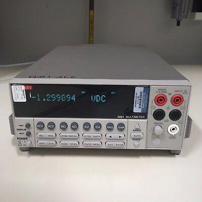 Keithley 2001 Multimeter