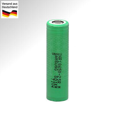 18650 Dampfer Akku für Vaporizer Qualitätszelle mit 2500 mAh Vape E Cig Batterie