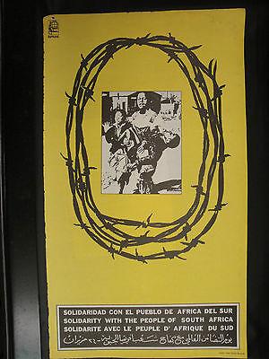 OSPAAAL CUBAN Political Poster Cambodia Cambodge Independence 1974 Art  CUBA