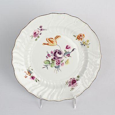 Antique 18th Century Meissen Porcelain Plate - Deutsche Blumen Flowers - PC
