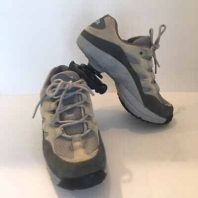 Z-Coil Womens Freedom Classic Shoes Size 8 Gray Pain Relief Slip Resistant