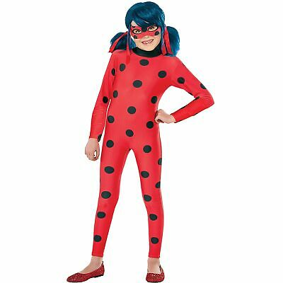Ladybug Halloween Costumes (Miraculous Ladybug Halloween Costume for Girls Small with Accessories)