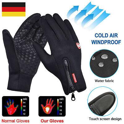 Touchscreen Handschuhe Winddicht Outdoor Laufhandschuhe Radfahren Jagd Sports