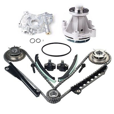 - Timing Chain Kit Cam Phaser Water Oil Pump Fit 04-08 Ford F-150 5.4 TRITON SOHC