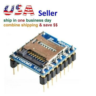 U-disk Audio Player Tf Sd Card Voice Module Mp3 Sound Wtv020-sd-16p For Arduino