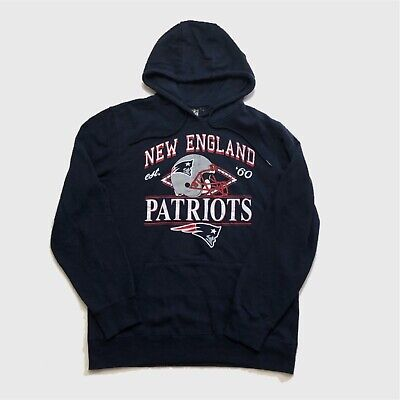 Vintage NFL Hoodie Large New England Patriots, Good Condition