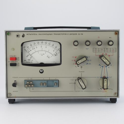 L2-54 Semiconductor device analyzer, circuits parameters meter an-g. HP Agilent