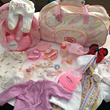 BABY BORN CARRIER, CLOTHES, BACKPACK, CARRY BAG , BOTTLES & MORE! Ormiston Redland Area Preview