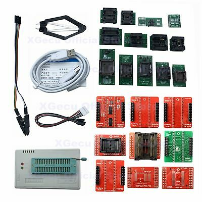 Xgecu Tl866ii Programmer Plus For Spi Flash Nand Eprom Mcu Avr22 Adaptersclip