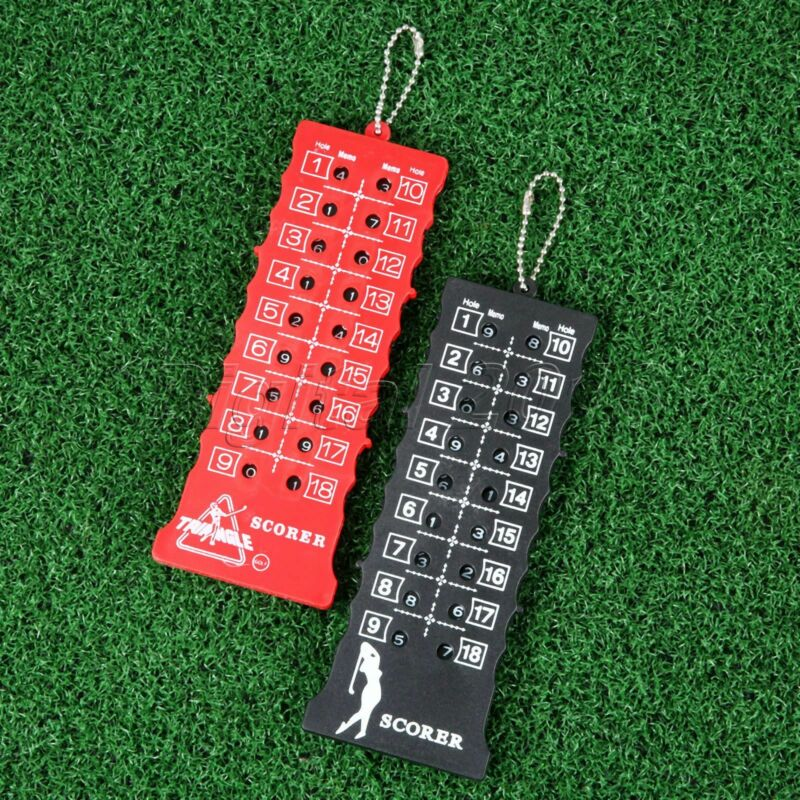 18 Hole Golf Stroke Counter Golf Score Counting Practice Training Aid Indicator