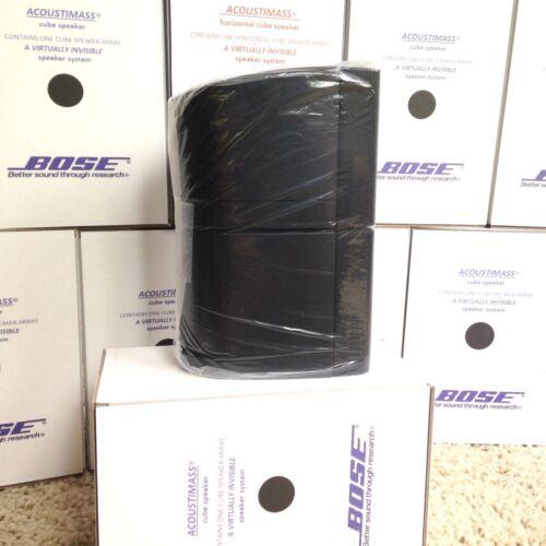 Bose Speaker Acoustimass Lifestyle Double Cube DoubleShot Mint Black