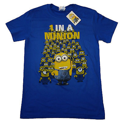 Despicable Me One in a Minion Minions Birthday Xmas Gift OFFICIAL T-Shirt  15B ()