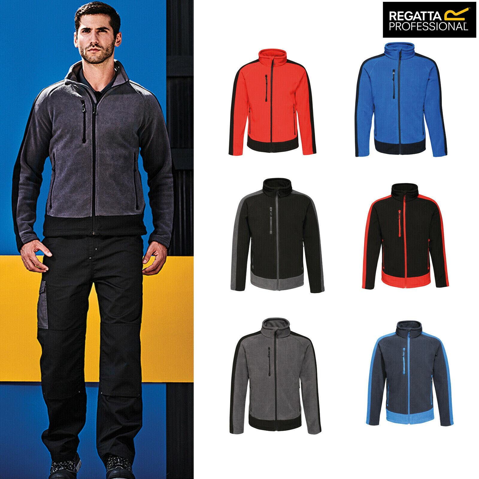 Regatta Mens Contrast 300 Fleece Jacket