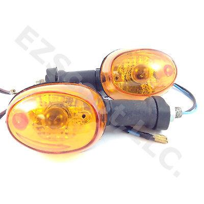 SET TURN SIGNAL LIGHT BLINKER REAR GY6 50-150 SCOOTER MOPED ATV TAOTAO JCL TANK