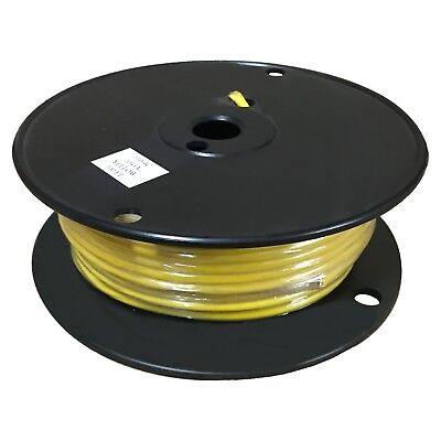 Yellow 10 Gauge Gpt Primary Wire 100 Foot Spool