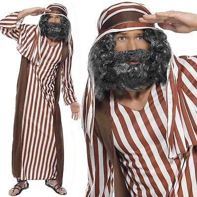 Pastore Costume per Uomo Recita di Natale Vestito Natale Costume M