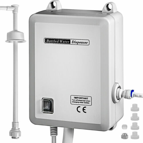 US AC 120V Bottled Water Dispensing Pump System Replaces Bunn Flojet Free Fast