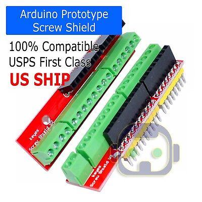 Arduino Proto Screw Shield V2 Expansion Board compatible Arduino UNO R3 Top