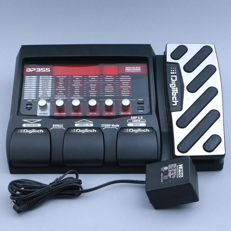 Digitech BP355 Multi-Effects Bass Guitar Effects Pedal P-14908