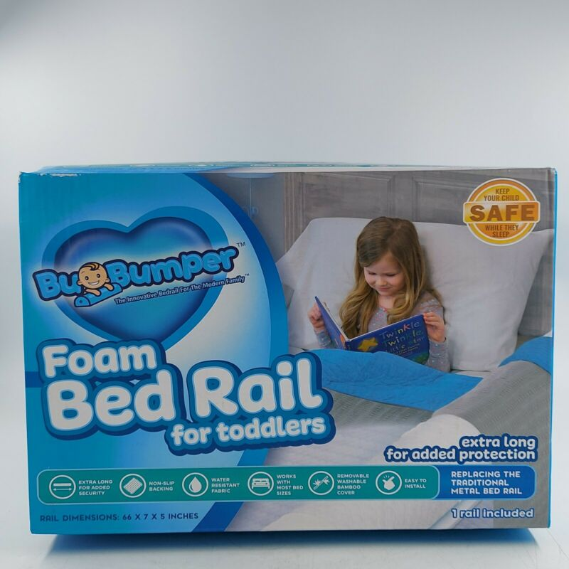 (1-Pack) Extra Long Bed Rail for Toddler Soft Foam Guard All Size NEW