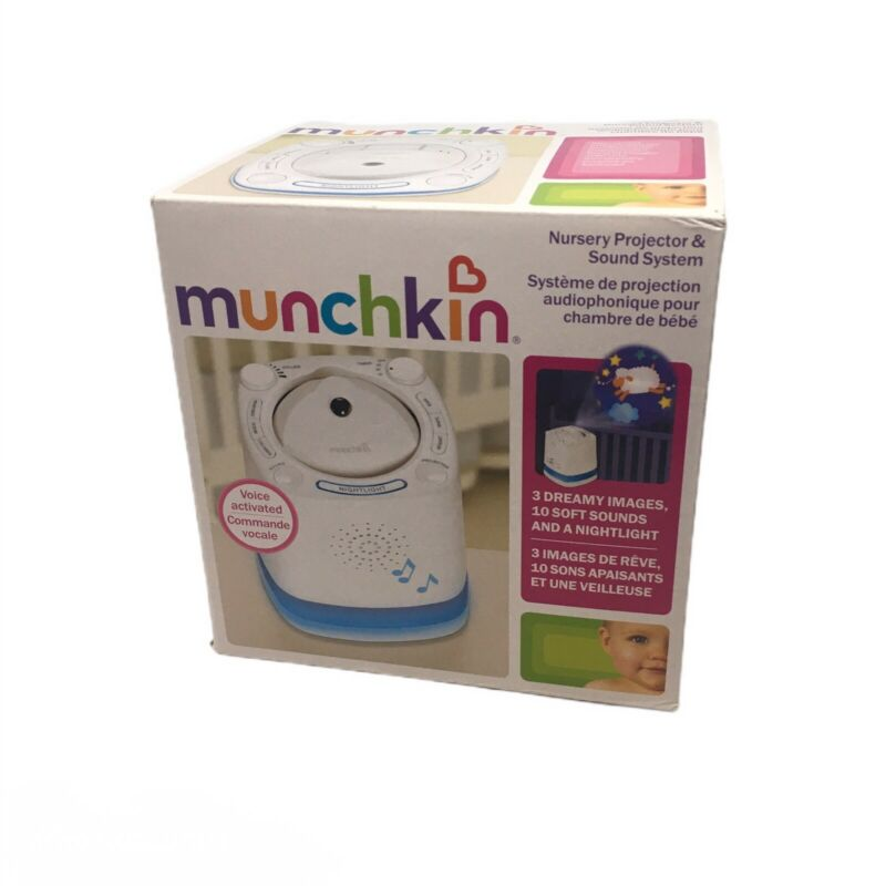 Munchkin Nursery Projector and Sound System - New Open Box - Fast Shipping