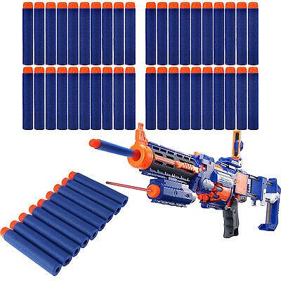 50pcs Toy Guns Refill Clip Darts Bullet for Nerf N-strike Series Blasters Foam