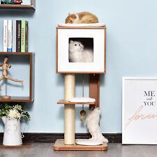 Cat Furniture Kitten House Cat Scratcher w/Scratching Post Condo