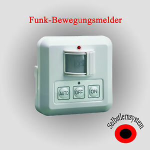 Funk Bewegungsmelder ELRO AB600P Ein-Aus Schalter Funkbewegungsmelder Infrarot