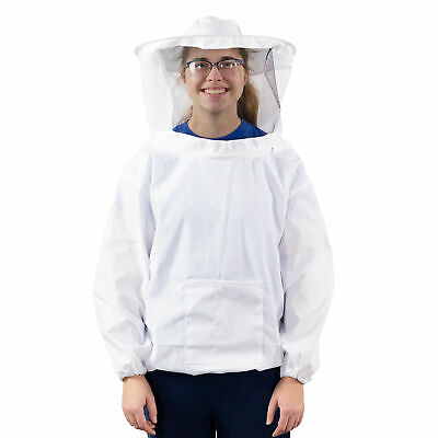 Vivo Medium Beekeeping Bee Keeping Suit Jacket Pull Over Smock With Veil M