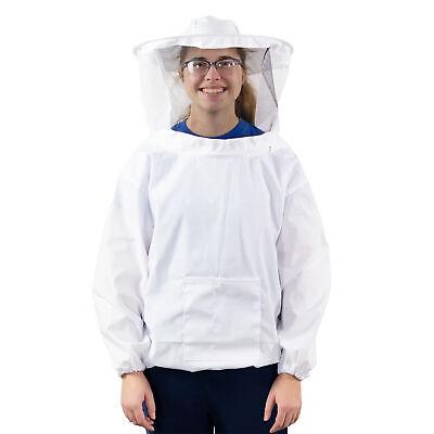 Vivo Medium Beekeeping Bee Keeping Suit Jacket Pull Over Smock With Veil M