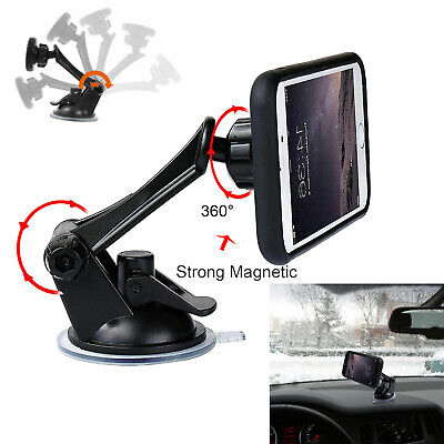 360º Car Windshield Dashboard Suction Cup Magnetic Mount Ho