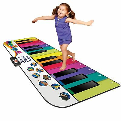 Floor Piano Mat: Jumbo 6 Foot Musical Keyboard Playmat for Toddlers and Kids -
