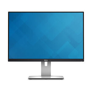 Dell U2415 IPS LCD Monitor - Black