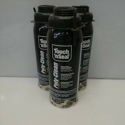 3 Partial Cans - Touch N Seal Zero Voc Poly-clean Polyurethane Foam Cleaner