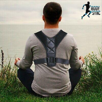 Body Sync Back Brace Posture Corrector Shoulder Belt for Men and Women