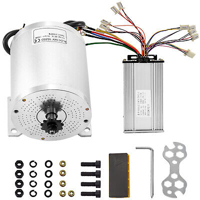 1500w 48v Dc Brushless Motor Wmounting Bracket Controller F Electric Scooter