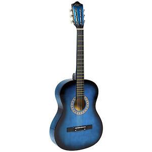 Ariana Beginners Acoustic Guitar - Blau