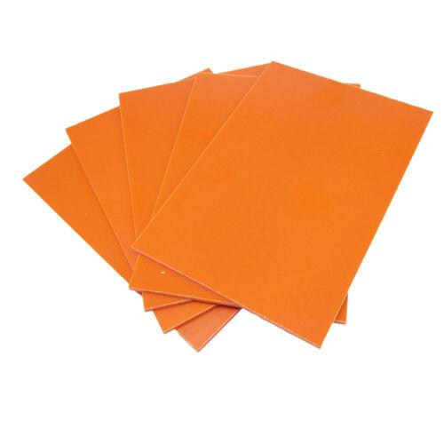 US Stock 5pcs Red Bakelite Phenolic Resin Flat Plate Sheet PCB 3 x 100 x 150mm