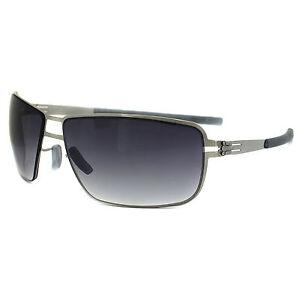 ic! berlin Sunglasses Ahmad Chrome Black Gradient