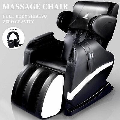 Deluxe Full Body Electric Shiatsu Massage Chair Recliner Zero Gravity with Heat