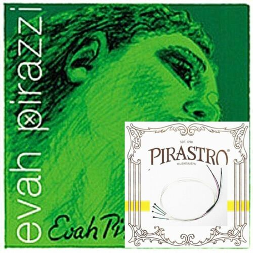Evah Pirazzi Violin String 4/4 Set Medium Gauge - PIRAZZI E GOLD PLATED BALL