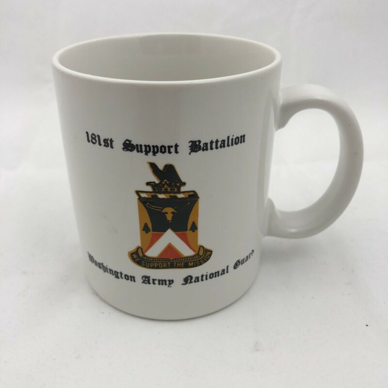 Washington Army National Guard 181st Brigade Support Battalion Coffee Mug