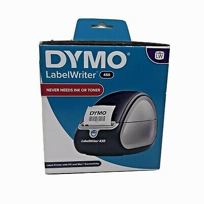 Dymo Labelwriter 450 Thermal Label Printer With 1 Label Roll Included