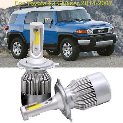 For Toyota FJ Cruiser 2014-2007 LED Headlight Kit Car H4 9003 High Low Beam Bulb - Kit Low Beam Cruiser
