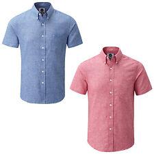 Men's Linen Casual Summer Shirt by Charles Wilson