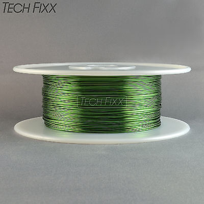 Magnet Wire 18 Gauge AWG Enameled Copper 400 Feet Coil Winding 155C Green