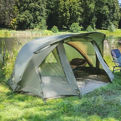 TF Gear NEW Airflow Bivvy mk3 1 or 2 Man Carp Fishing Tent & Overwraps Available